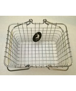 "3 x Steel metal wire basket chrome color with handle 9""L x 7""W x 5""H - $19.79"