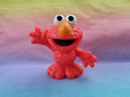 2013 Sesame Street Elmo Plastic Figure Toy Cake Topper - $5.89