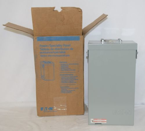 Eaton BR24L125RP Outdoor Main Lug 125 Amp 2 Spaces 4 Circuits