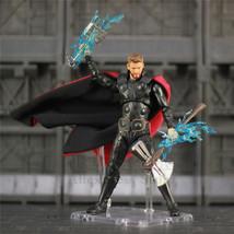 "6"" Thor Avengers Infinity War Endgame Action Figure With Stormbreaker Mj... - £81.70 GBP"
