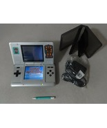 FULLY TESTED Original Nintendo DS Titanium Handheld System With Charger ... - $58.40