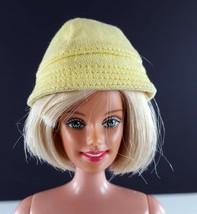 Barbie 949 Yellow Rain Hat Cotton Original 1960s Clothing - $9.89