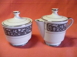 Empress China Patrician Covered Sugar & Covered Creamer Pattern # 171 - $19.96