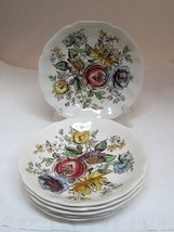 2 Johnson Brothers Sheraton Floral Hand Tinted Saucer Only from 1944 - 1982 Pair - $19.80