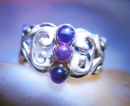 HAUNTED FIRE EARTH WATER & AIR RING OFFERS ONLY HIGHER ELEMENTS MAGICK 7... - $89,007.77