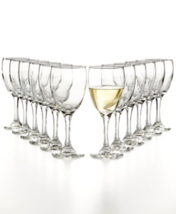 The Cellar Glassware Basics White Wine Set of 12 NEW - $27.86