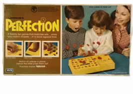 Vintage 1973 Perfection Skill Game Lakeside 99% Complete Works Well Box ... - $29.69
