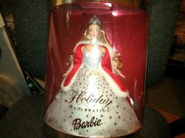 2001 Mattel Holiday Celebration Special Edition  Barbie Doll New in box - $13.99