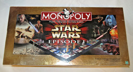 Monopoly Star Wars Episode I Collectors Edition 3-D Game Board Pre Owned - $53.13