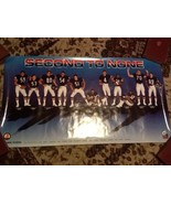 ORIGINAL VINTAGE CHICAGO BEARS 1986 POSTER SECOND TO NONE NFL - $19.79