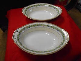"""Beautiful Collectible FUJI China OCCUPIED JAPAN """"Orchard""""-  OVAL Serving... - $15.65"""