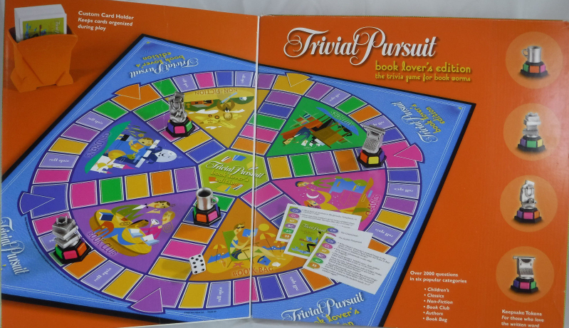 Trivial pursuit book lovers edition two harbors public library.