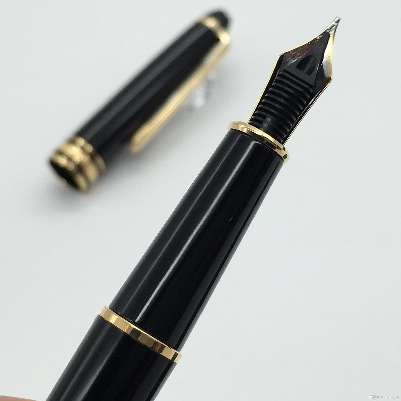 Top mb pen classique #163 fountain with 4810 Middle size 14K golden nib fountain