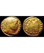 Constantine I, Æ3. Campgate, Cyzicus Mint, 325-326 AD - $8.75