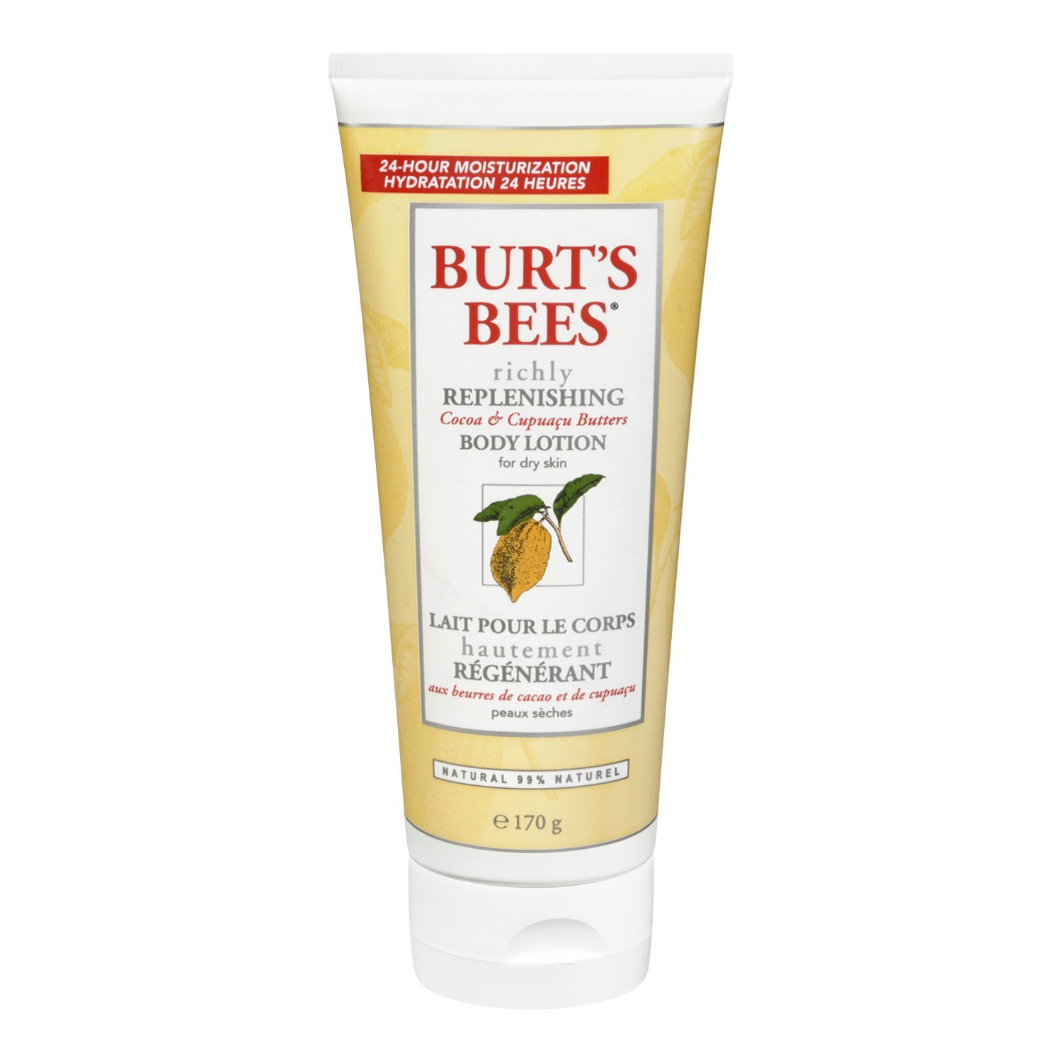 BURTS BEES Cocoa Butter Body Lotion, 6 OZ