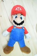 "Nintendo Super Mario Bros Plush Bag 2012 Stuffed 23"" - $18.77"