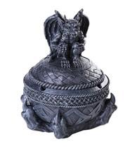 Gothic Gargoyle Lidded Ashtray Trinket Box Tabletop Decor Statue 7 Inch ... - $19.79