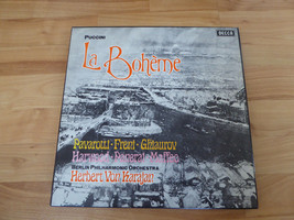 Puccini La Boheme - 2 Record Boxed Set - $9.94