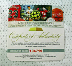 KOBE BRYANT / NBA HALL OF FAME / AUTOGRAPHED TEAM USA PRO STYLE JERSEY / COA image 9