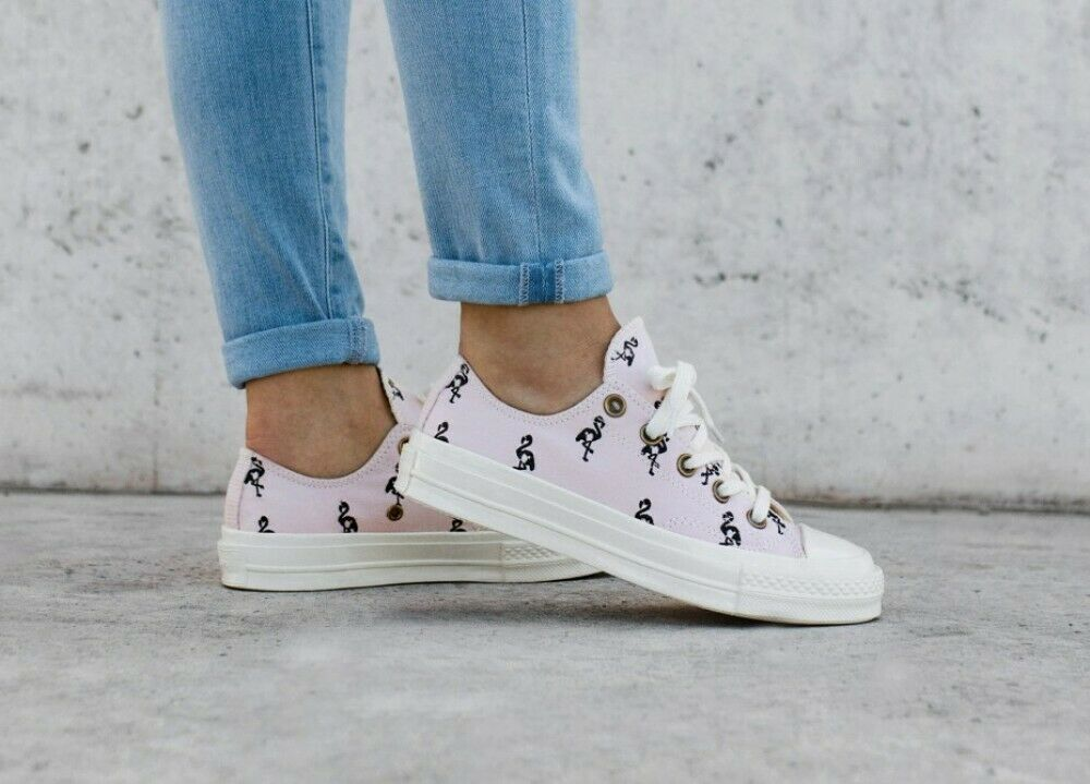 Converse CTAS 70 Ox Embroidered Mens 160506C Barely Rose/Almost Black Szes 8 8.5