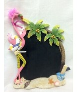 """Character Collectibles Pink flamingo message board slate chalkboard 12"""" ... - $49.99"""