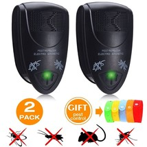 BUG REPELLER ULTRASONIC Insect Fly MOSQUITO Electric Outdoor Flies Trap ... - $21.59