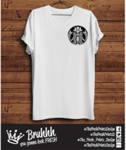 StarBucks Mermaid T Shirt Cute Coffee Love Cool Tumblr Hipster Unisex Gift  - $12.74