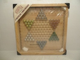 NEW SEALED WOODFIELD COLLECTION CHINESE CHECKERS IN WOOD BOX!! - $41.47