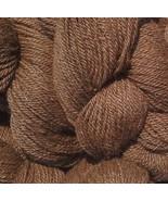 Dark Brown 100% Alpaca PKG of 3 ea 3 ply 4 ounce DK/Worsted/Sport Weight - $50.00