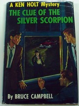 Ken Holt #16 Clue of the Silver Scorpion HTF 1st Edition 1st Print hcdj ... - $46.00