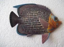 Tropical Fish Wall Plaque Tiki Bar Beach Pool Nautical Decor Size 6 inch... - $9.29