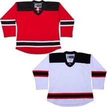 Team Lot/Set Of 10 Nj Devils Tron Hockey Jerseys Blank Or With Name & Number - $225.97+
