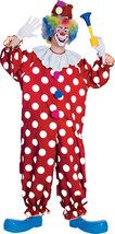 Rubies Fancy Dress Costume Co. Inc Boys Adult Dotted Clown Fancy Dress #jia - $31.69
