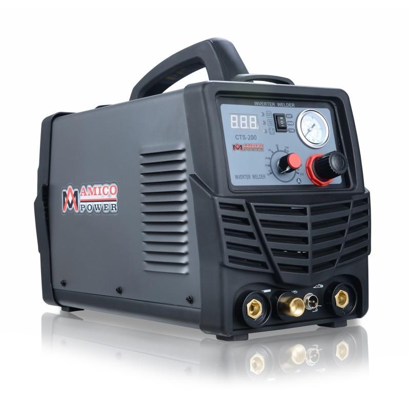 220 Amp 2-in-1 TIG Torch//Arc//Stick DC Inverter Welder 110V//230V Dual Voltage Input Welding IGBT Inverter System Soldering Machine TIG-220DC