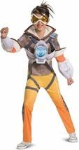 Kids' Overwatch Tracer Deluxe 3 Piece Halloween Costume L 10-12 Disguise - $15.98