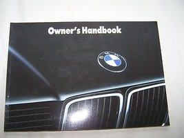 1991 BMW 735 750i Owners Manual Parts Service Manual  E32 7 Series - $75.00