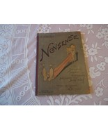 Victorian Hardback Book: A Nobody's Nonsense Color Illustrations & Verse - $40.00