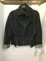 Ivan Grundahl Denim Black Jacket Long Skirt Sz 44 Copenhagen Barneys New York image 2