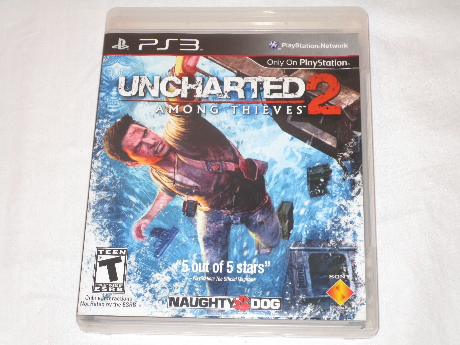 Primary image for Uncharted 2: Among Thieves (Sony Playstation 3, 2009) COMPLETE