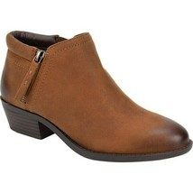 White Mountain Women Ankle Booties Dandy Size US 8M Cognac - £21.94 GBP
