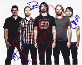 8.5x11 Autographed Signed Reprint RP Photo Foo Fighters (group) - $12.90