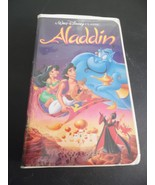 Disney Aladdin VHS Movie/1993 Black Diamond Classic VGC #1662 - $49.50