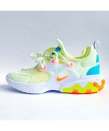 New Nike React Presto GS Youth  Size 4 Sneakers Barely Volt BQ4002-700 - $99.99