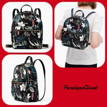 Nwt Kate Spade Small Bradley Wilson Road Botanical Backpack Bag In Black Multi - $78.88
