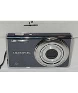 "Olympus FE FE-4010 12.0MP Digital Camera Gray 4x Optical Zoom 2.7"" LCD - $70.13"