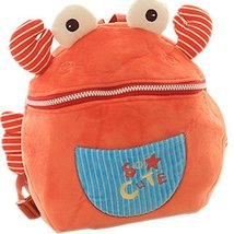 Infant Knapsack Baby Children Backpack Prevent from Getting Lost Orange