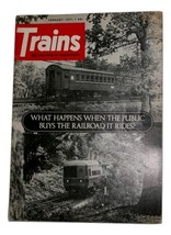 Trains Mag. January 7,  What Happens when the public buys the railroad it rides?