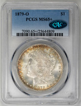 1879-O $1 Morgan Dollar - PCGS MS65+ CAC Approved - $6,000.00
