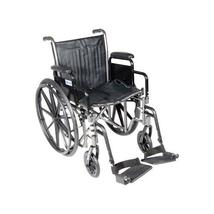 Wheelchair Econ Rem Full Arms W/SDF  Dual Axle 18 - $288.90+