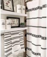 Set Bathroom Shower Curtain And Hand Towel decoration Bathroom shower Cu... - $39.59